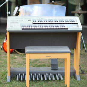 雅马哈elb-01双排键电子琴图片
