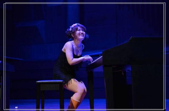 日本双排键电子琴演奏家山根良子2015年中国巡演纪行图片