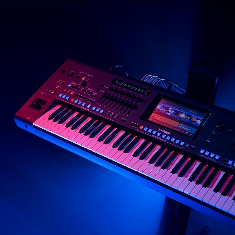 雅马哈电子键盘