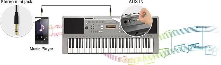 电子琴PSR-E353图片