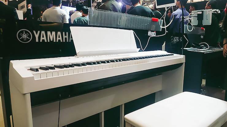 雅马哈电子键盘乐器 P-121 数码钢琴