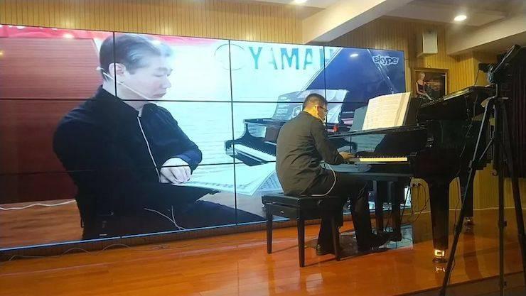 葛晓明教授远程钢琴公开课
