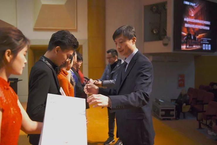 河南大学颁奖仪式