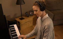 雅马哈加振钢琴